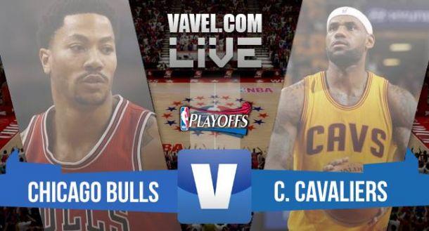 Resultado Bulls x Cavaliers no NBA Playoffs 2015 Jogo 6 (73-94)