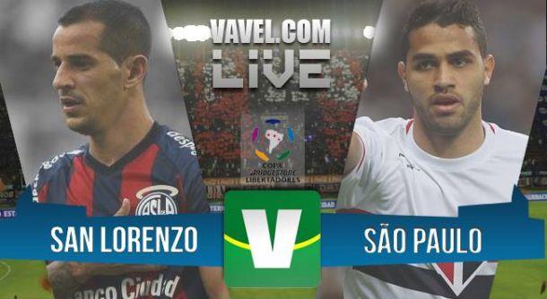 San Lorenzo x São Paulo ao vivo online pela Copa Libertadores 2015