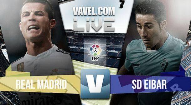 Diretta Real Madrid - Eibar in il risultato della partita di Liga (3-0)
