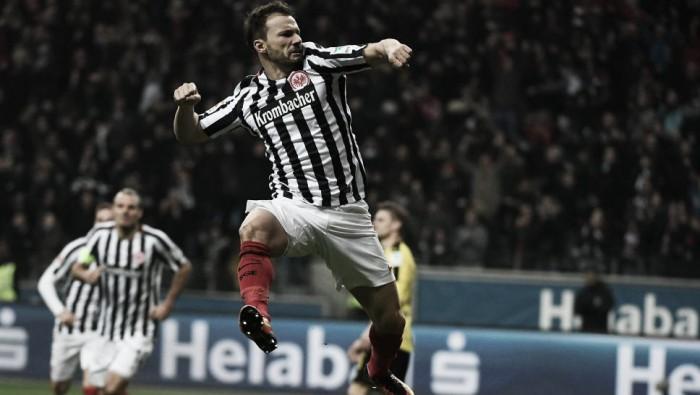El Eintracht sorprende al Dortmund