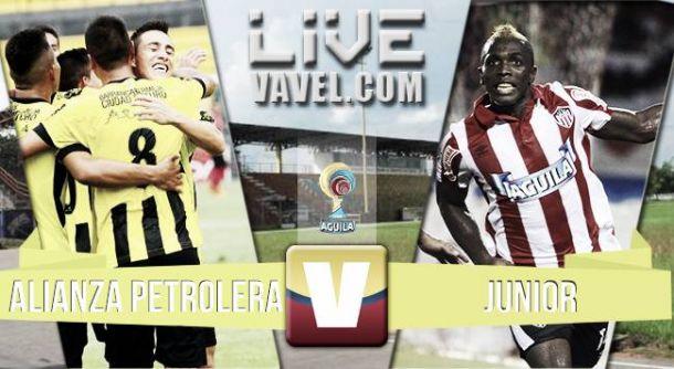 Resultado Alianza Petrolera - Junior en Liga Águila (0-0)