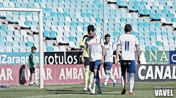 El Sant Andreu derrota al filial maño pero todavía no lo sentencia