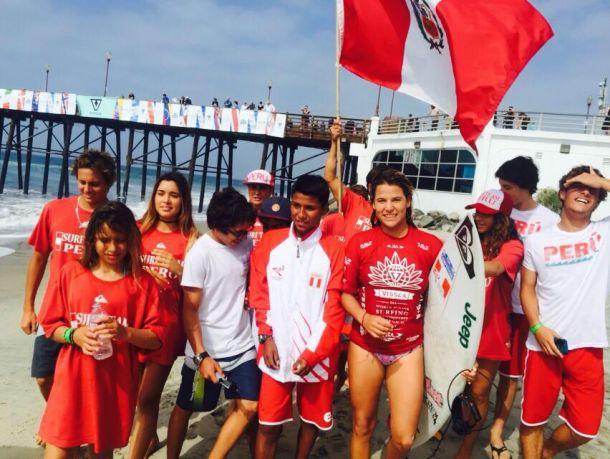 Surf: Melanie Giunta, la única peruana el Mundial ISA