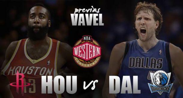 Houston Rockets - Dallas Mavericks: duelo tejano en primera ronda