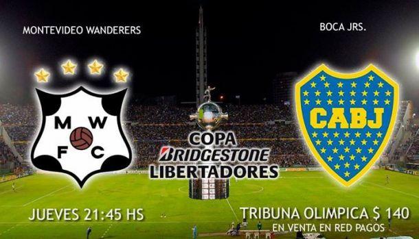 Montevideo Wanderers - Boca Juniors: En busca de la clasificación
