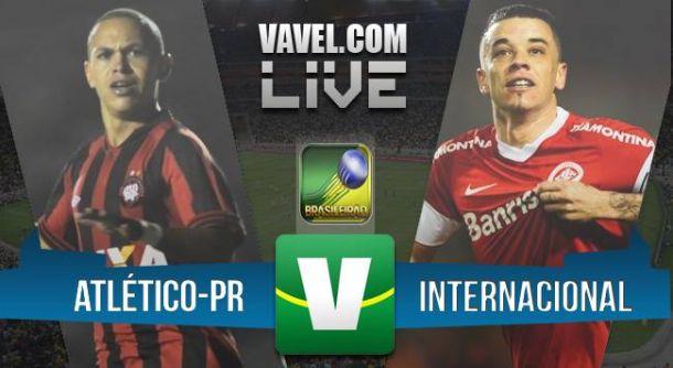 Resultado de Atlético Paranaense x Internacional pelo Brasileirão 2015 (3-0)