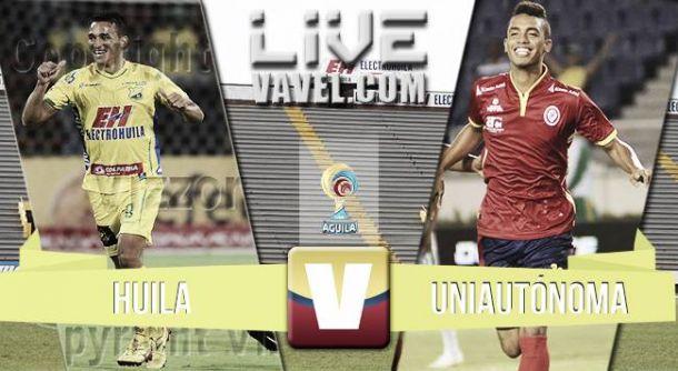Resultado Atlético Huila - Uniautónoma (3-1)