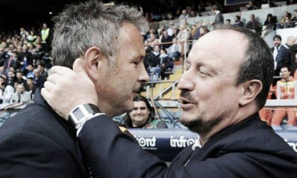 Benitez, la rincorsa alla Champions passa dalla Samp di Mihajlovic