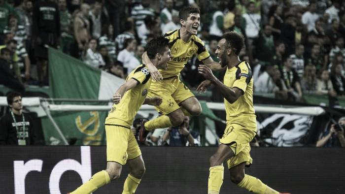 Dortmund leva a melhor sobre Sporting fora de casa e segue próximo ao Real Madrid