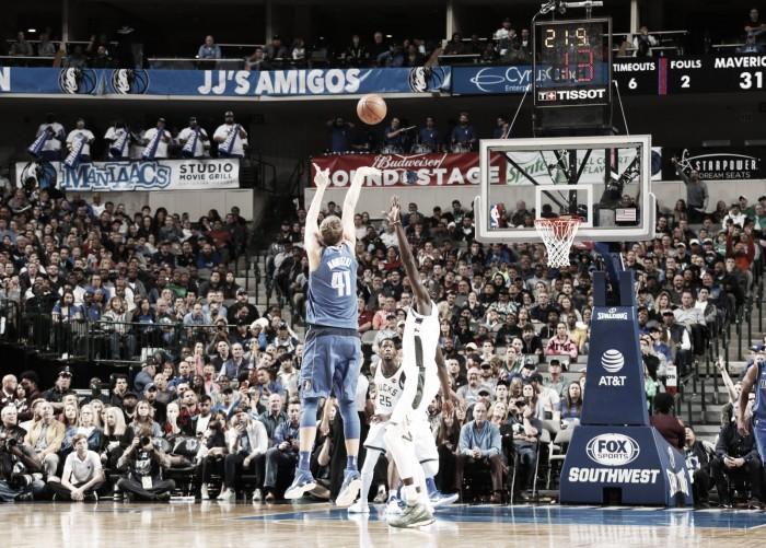 NBA - Vittorie interne per Dallas e Portland contro Bucks e Kings