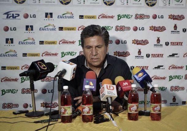 """Raúl Arias: """" Nos vamos con desventaja importante, pero pensamos remontar en casa"""""""