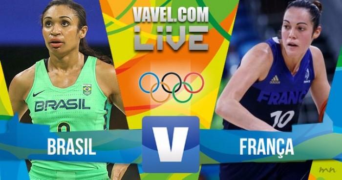 Brasil x França no basquete feminino dos Jogos Olímpicos