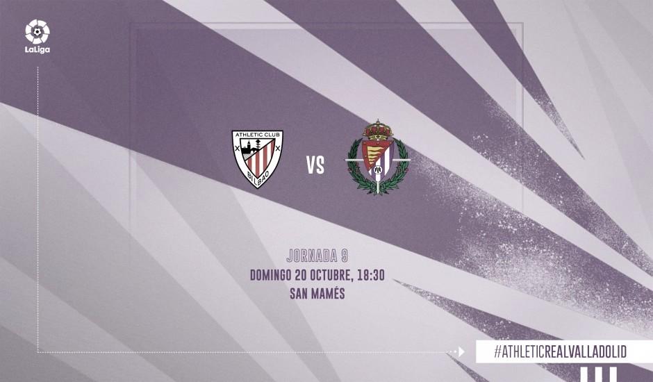 Athletic de Bilbao vs Valladolid en vivo y en directo en LaLiga Santander 2019