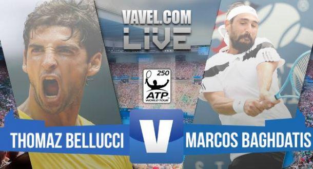Thomaz Bellucci x Marcos Baghdatis pelo ATP 250 de Genebra (2-1)
