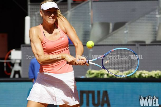 WTA Madrid, Sharapova ai quarti