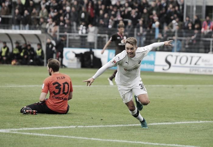 Com tranquilidade, Sandhausen bate e afunda St. Pauli na 2. Bundesliga