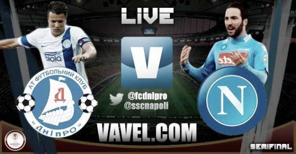 Risultato Dnipro - Napoli, nell'Europa League 2015 1-0