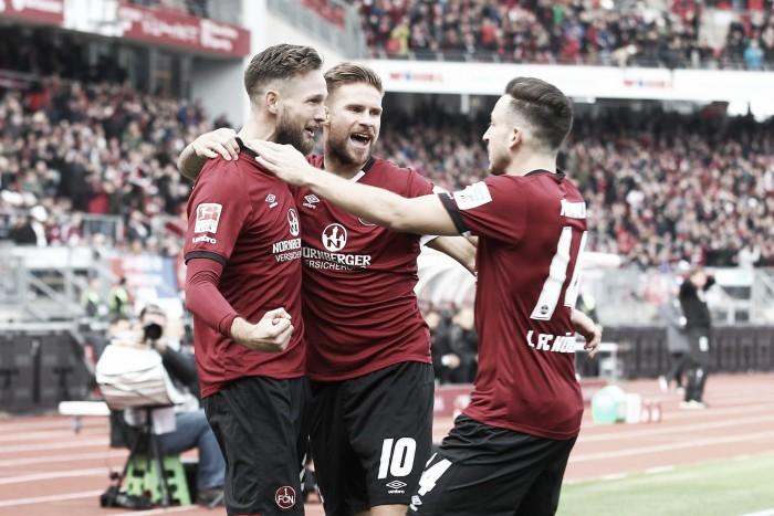 Nuremberg chega a quarta vitória seguida após bater Hannover na 2. Bundesliga