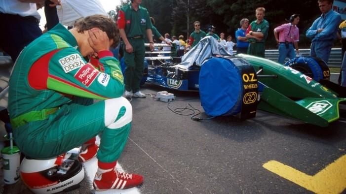 F1, Schumacher: la stella che iniziò a brillare 25 anni fa