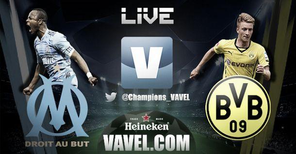 Resultado Olympique de Marsella - Borussia Dortmund en la Champions League 2014 (1-2)