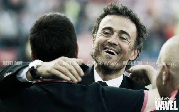 """Luis Enrique exalta conjunto do Barcelona pela conquista da Liga: """"Estamos mais do que satisfeitos"""""""