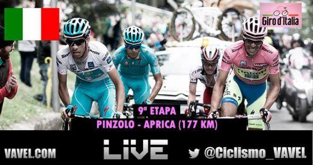 Giro d'Italia 2015, il finale della 16^ tappa, Pinzolo - Aprica. Vince Landa, super Contador