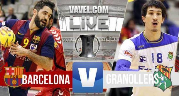 Resultado FC Barcelona - Fraikin BM Granollers en la final de Copa del Rey 2015 (27-26)