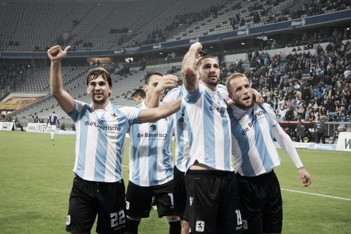 1860 Munique vence o Erzgebirge Aue e quebra sequencia de seis jogos em vitória na 2. Bundesliga