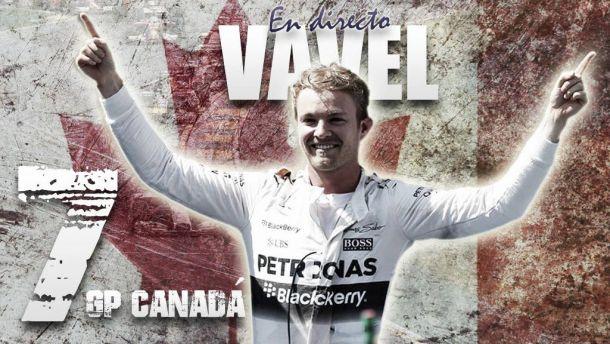 Resultado de los Entrenamientos libres 3 del GP de Canadá de Fórmula 1 2015