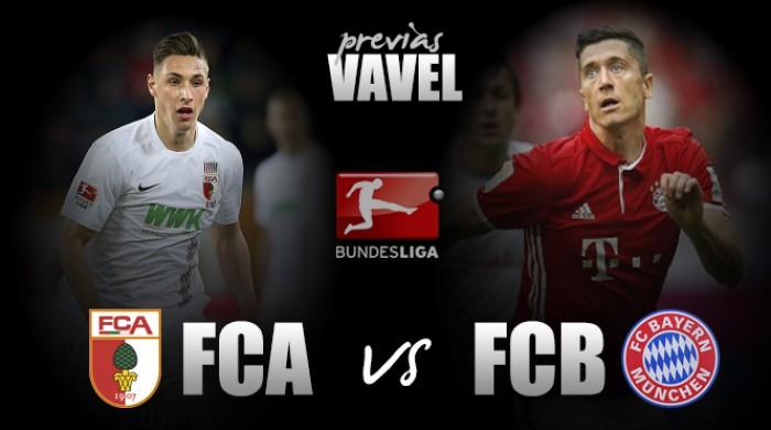 Augsburg e Bayern de Munique se enfrentam na Bundesliga