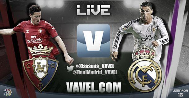 Diretta Osasuna - Real Madrid in Liga