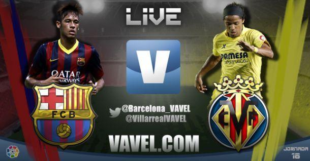 Live Barcellona - Villareal in Liga spagnola