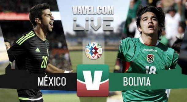 Live Messico - Bolivia in risultato Copa America 2015 (0-0)