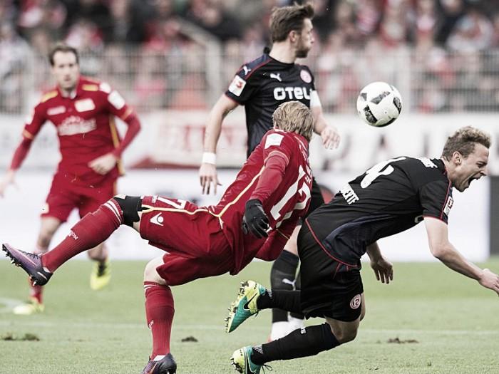 Fortuna Düsseldorf supera Union Berlin e entra provisoriamente no G-3 da 2. Bundesliga