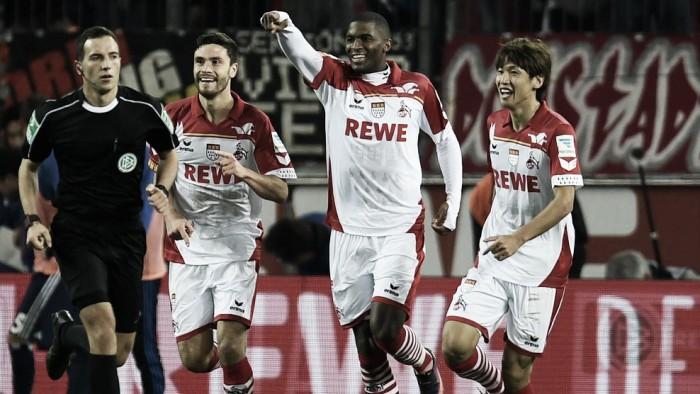 Modeste faz três e Colônia afunda Hamburgo na lanterna da Bundesliga