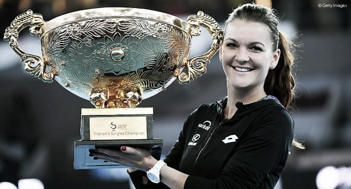 Agnieszka Radwanska supera Konta e conquista título do WTA Premier de Pequim