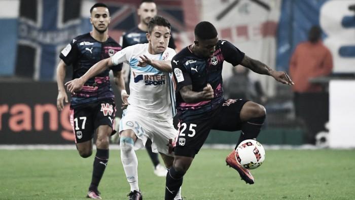 Olympique de Marseille e Bordeaux fazem jogo fraco e não saem do zero