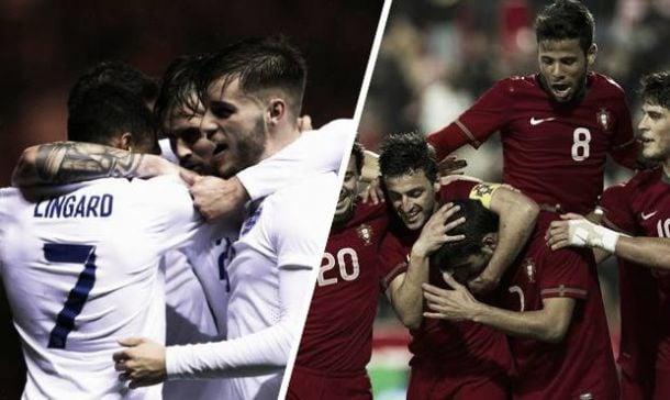 Score England U21 - Portugal U21 in 2015 European Under-21 Championships (0-1)