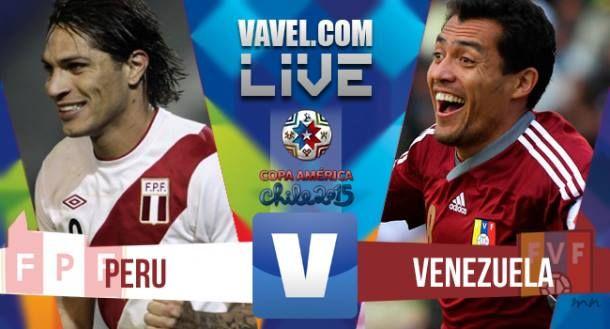 Risultato Perù - Venezuela, Copa America 2015 (1-0)