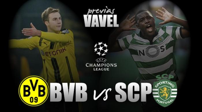 Para se classificar antecipadamente na UCL, Dortmund recebe Sporting
