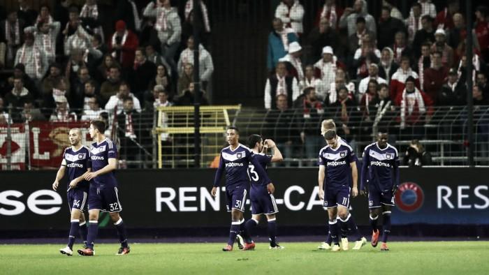 Mainz é goleado fora de casa pelo Anderlecht e se complica na UEL