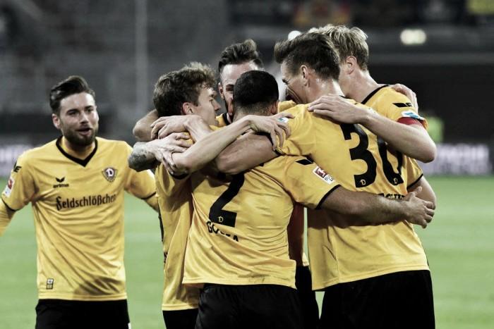 Dynamo Dresden leva a melhor e derrota o Fortuna Düsseldorf fora de casa na 2. Bundesliga