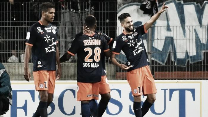Boudebouz marca duas vezes e Montpellier bate Olympique de Marseille em casa