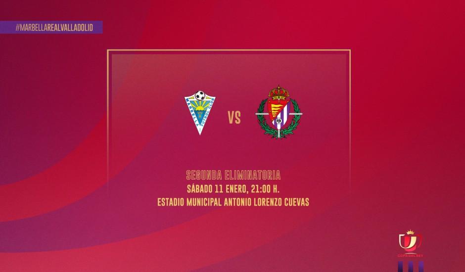 Marbella CF - Real Valladolid EN VIVO y en directo online en la Copa del Rey 2020