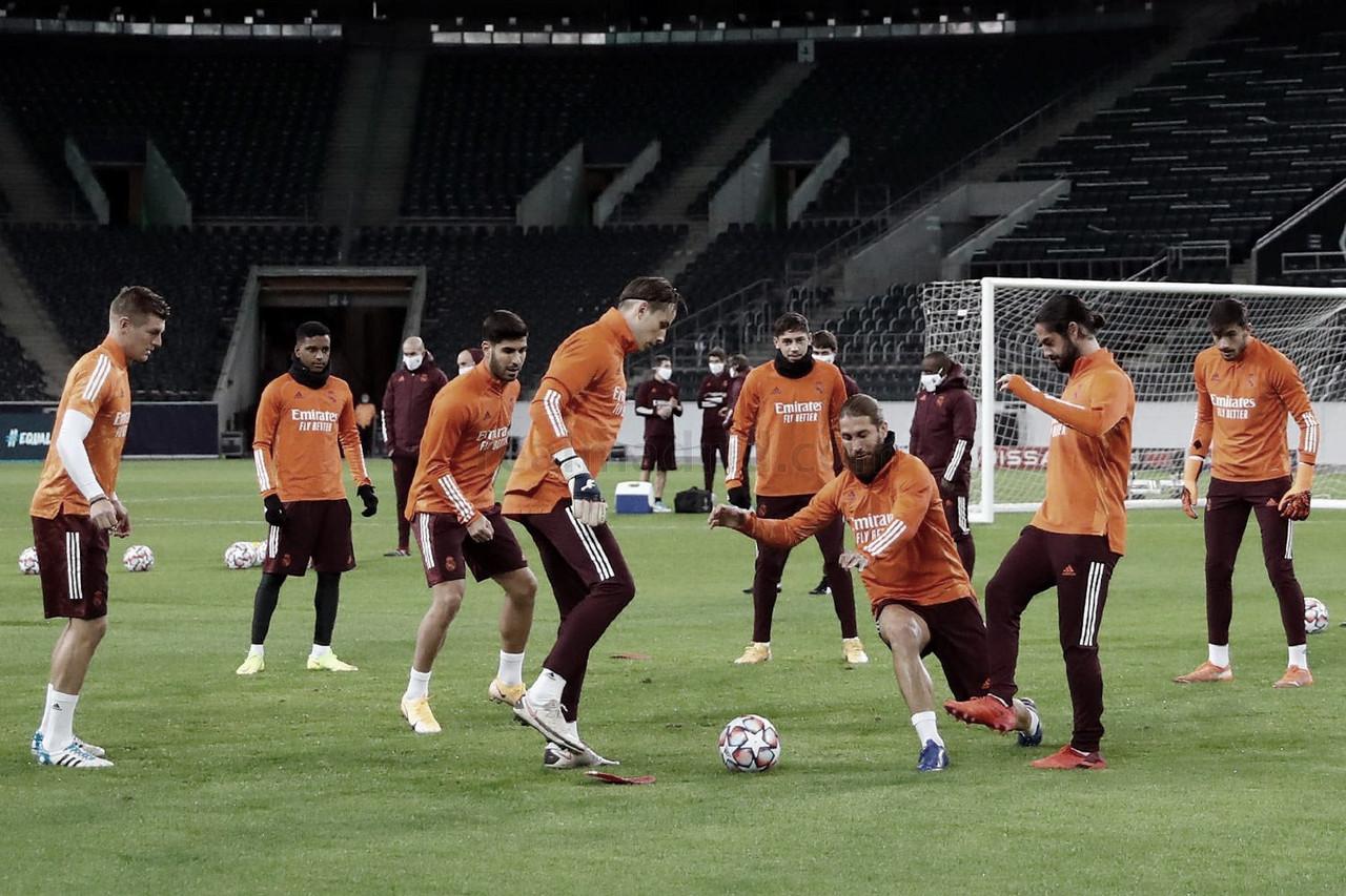 Instantánea del entrenamiento del Real Madrid | Fuente: www.realmadrid.com