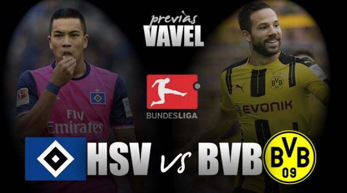 Hamburgo recebe instável Borussia Dortmund na Bundesliga