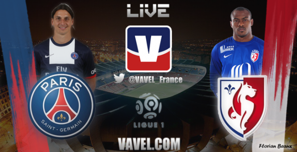 Live Paris - Lille, le match en direct  (Terminé)