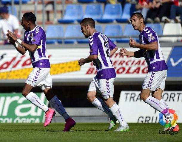 Real Valladolid - Nàstic de Tarragona: seguir creciendo