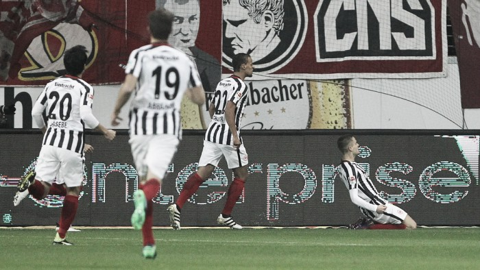 Gacinovic marca único gol na vitória do Eintracht Frankfurt sobre Colônia