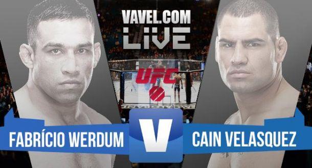Resultado UFC 188: Fabricio Werdum - Cain Velasquez
